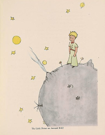 The Little Prince - Le Petit Prince - Saint-Exupéry - New York - www.MyFrenchLife.org