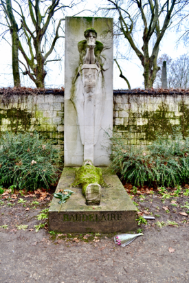 MyFrenchLife™ – MyFrenchLife.org – The Paris of Baudelaire - Baudelaire grave