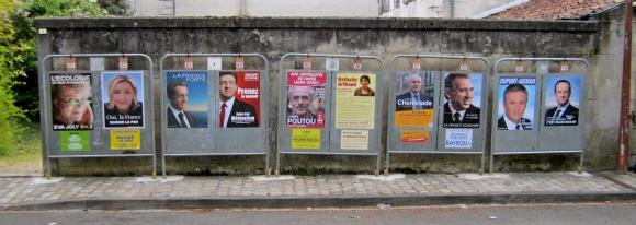 MyFrenchLife™ - MyFrenchLife.org - 2017 - French Legislative Elections - French politics - French election process - political posters 2012