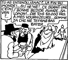 MyFrenchLife™ - MyFrenchLife.org - Tintin controversial hero - Jews cartoon