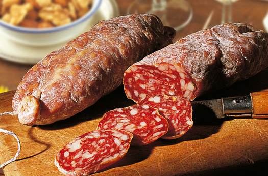 MyFrenchLife™ – French tradition - L'apéritif - or, how to enjoy life like the French - Saucisson