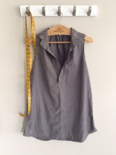 make a pattern from an old garment