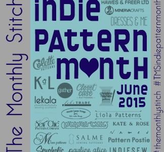 indie pattern month contest - my french twist
