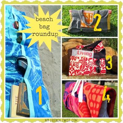 cool beach bag roundups - my french twist