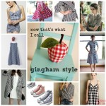 sewing challenge – gingham style