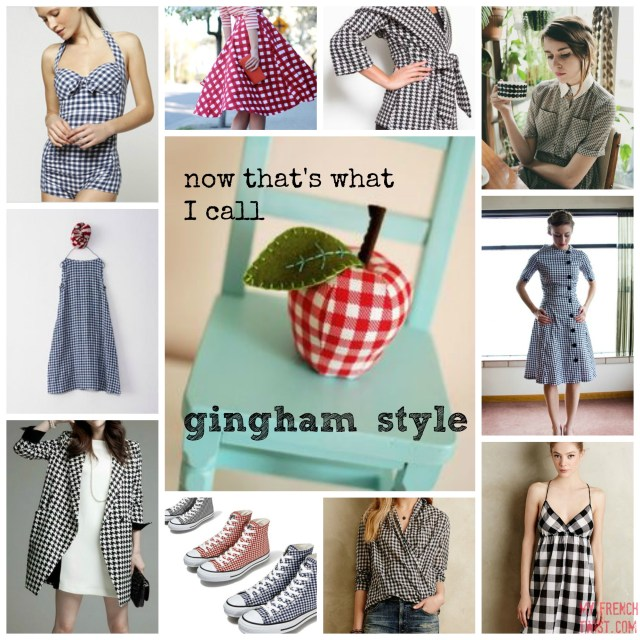 gingham style - my french twist