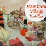 scarecrow village tradition
