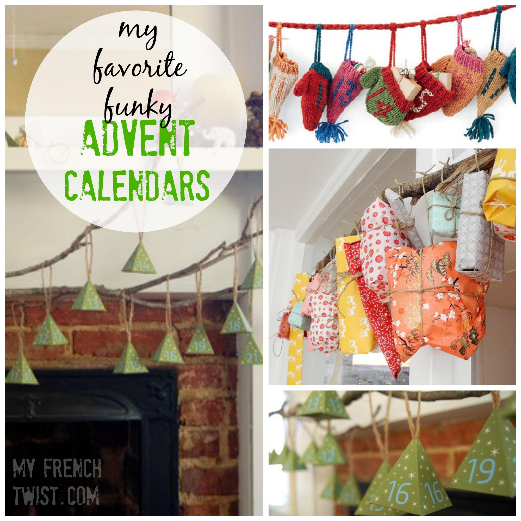 advent calendar round ups - myfrenchtwist.com