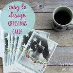 make your own holiday cards with vistaprint