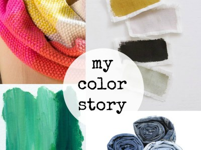 my color story - myfrenchtwist.com