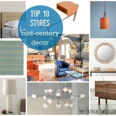 top 10 midcentury modern stores - myfrenchtwist.com