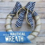 easy nautical wreath
