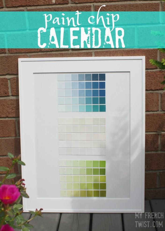 paint chip calendar4 - myfrenchtwist.com