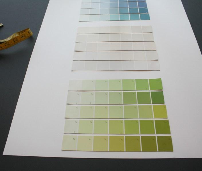 paint chip calendar - myfrenchtwist.com