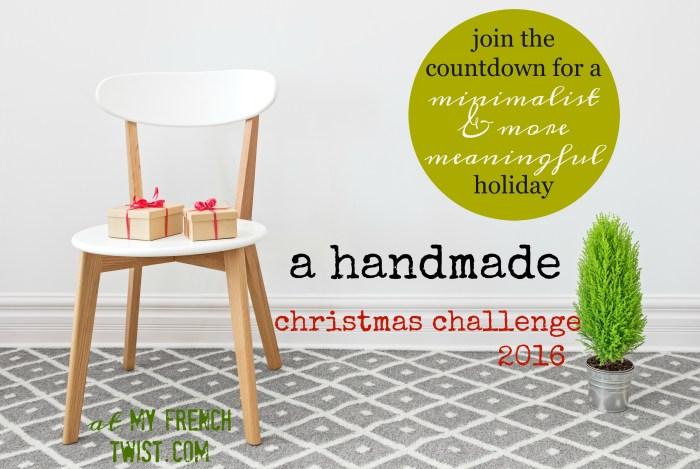 handmade christmas challenge 2016