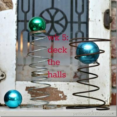 handmade christmas challenge 2016 deck halls