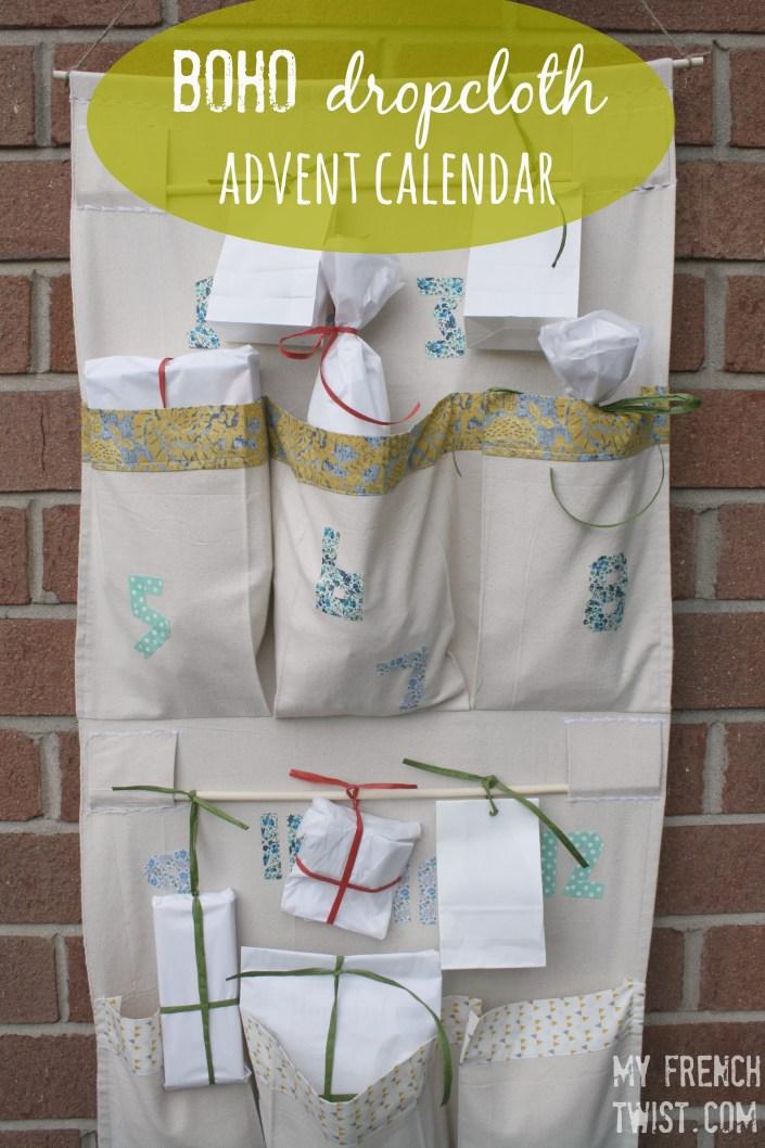 boho advent calendar - myfrenchtwist.com