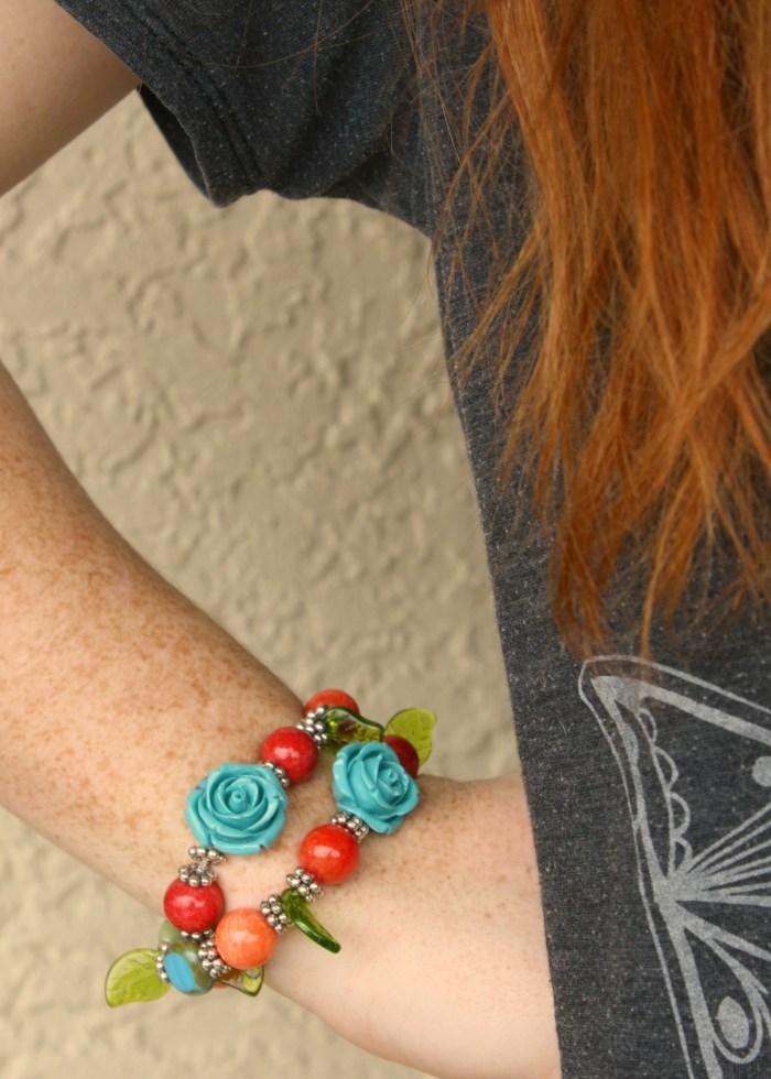 DIY vinage bracelet - myfrenchtwist.com