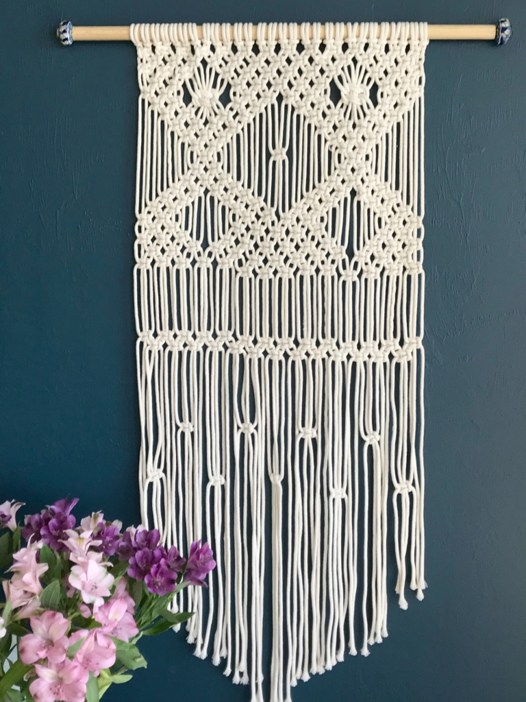 Macrame Wall Hanging For Beginners My French Twist