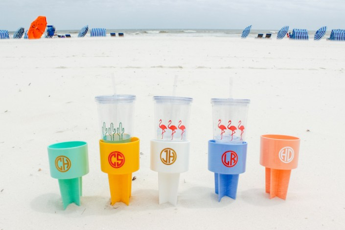 personalized beach spiker - myfrenchtwist.com