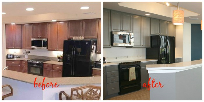 kitchen makeover - myfrenchtwist.com