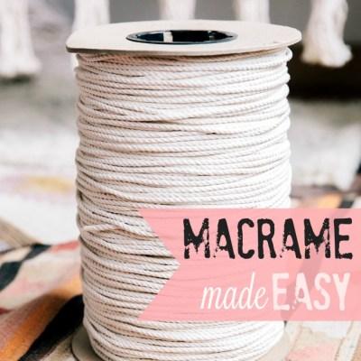 macrame made easy - myfrenchtwist.com