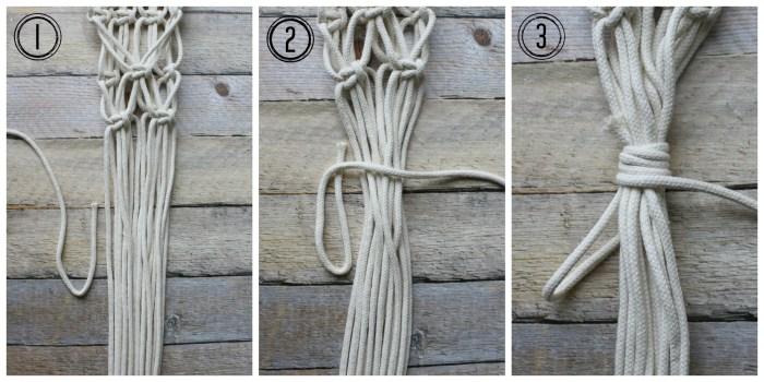 wrapped knot - myfrenchtwist.com