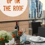 broadway tablescape – up on the roof