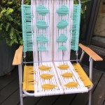 macrame lawn chair tutorial