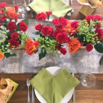 graceful tablescape for my galentine's party