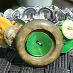 recycled pop top bracelet