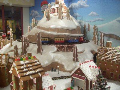 gingerbread village Kansas City