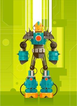 robot classroom theme