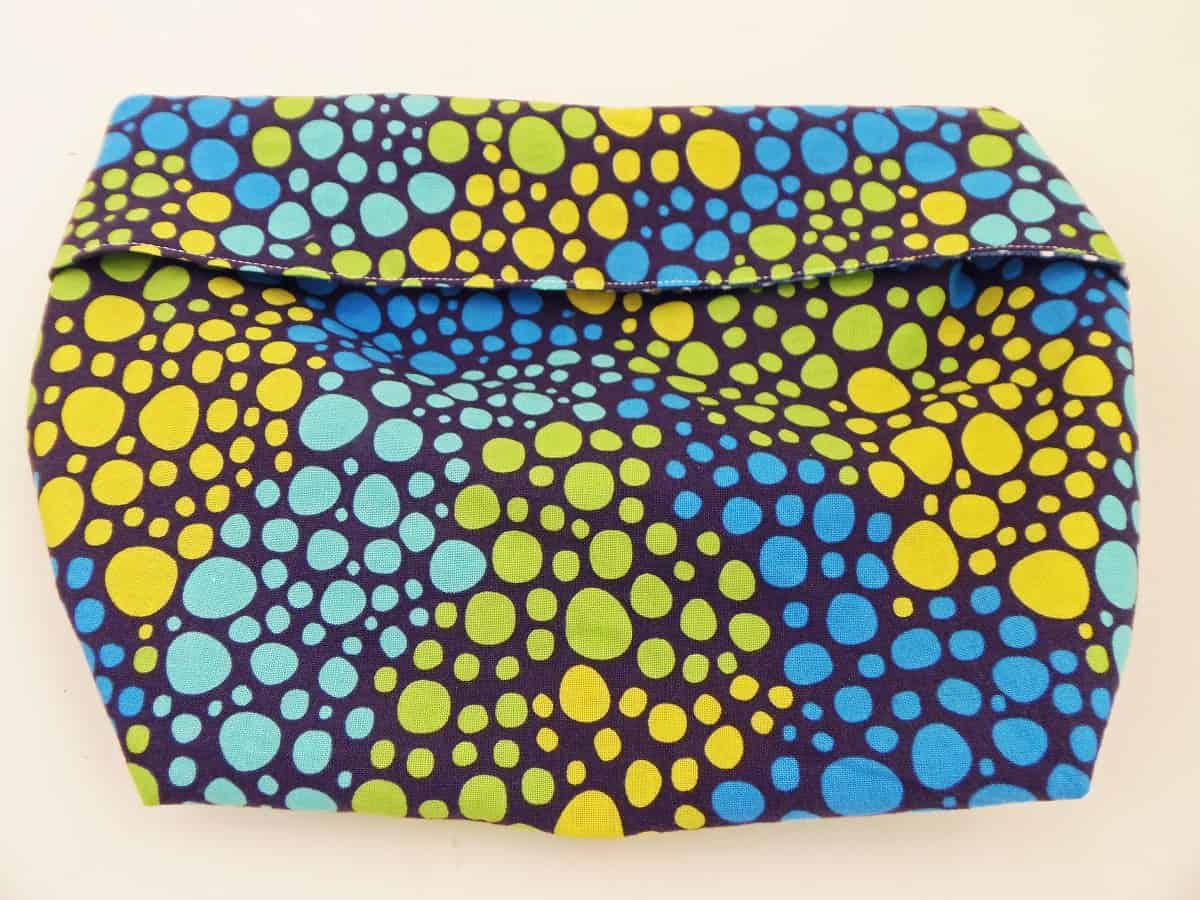 how to sew a reusable microwave popcorn bag