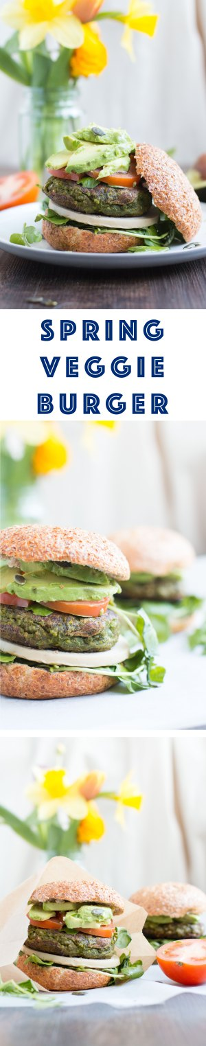 Spring-Veggie-Burger-simple-and-easy-to-make-very-delicious-vegan-burger