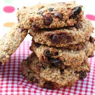 Oat & Banana Breakfast Cookies