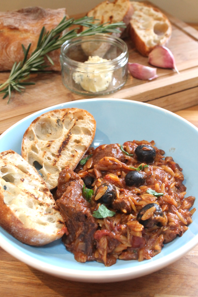 lamb and orzo casserole