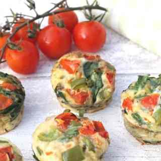 Spinach & Bacon Egg Muffins