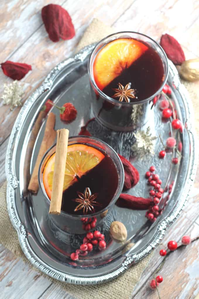paleo mulled wine syrup