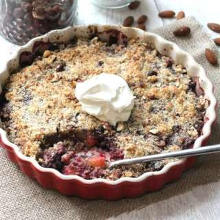 Nutty Winter Crumble