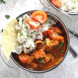 Chicken, Coconut & Tomato Curry