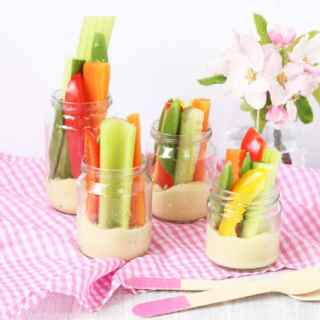 Child Friendly Hummus with Crudites