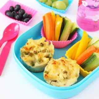 Macaroni Cheese Lunchbox Muffins