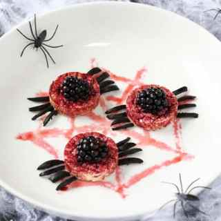 Organix Spooky Spider Rice Cakes