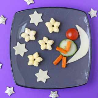 Organix Man in the Moon Fun Plate
