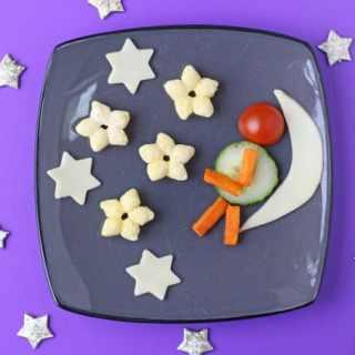 Organix Man in the Moon Fun Plate