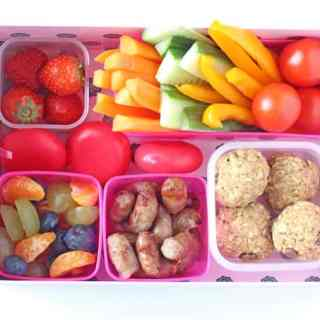 Fridge Snack Station for Kids