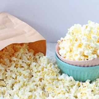 How To Make Popcorn In A Microwave With A Brown Paper Bag