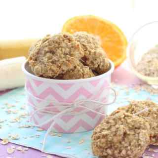 Banana & Orange Oat Toddler Bites
