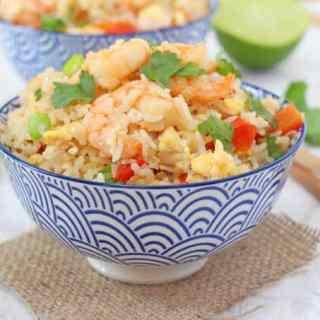Easy Thai Prawn Fried Rice